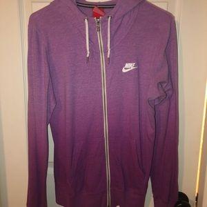 Women's Nike Zip Up Purple Ombré Hoodie!!!